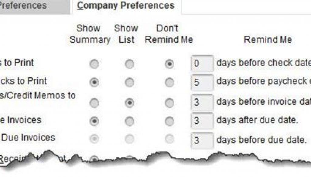 Reminder-Preference-Window